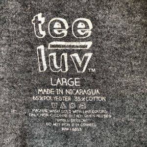 tee luv Shirts - Men's periodic elements graphic tee size large